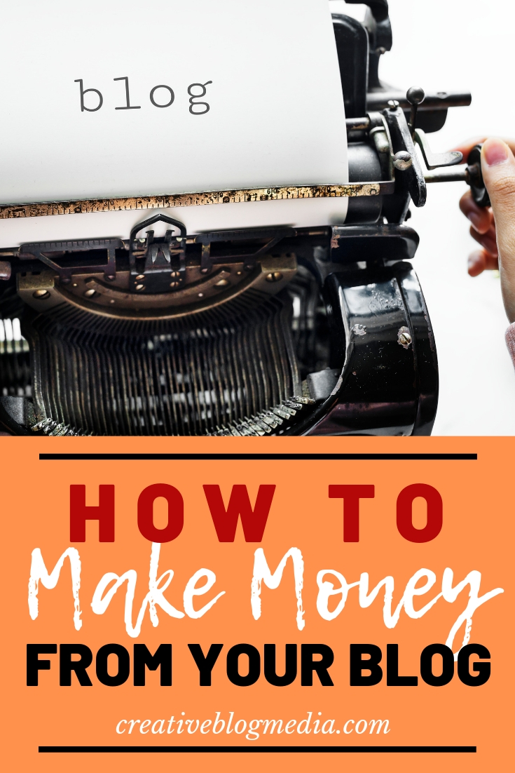 How To Make Money From Your Blog - The Basics. #BloggingTips #AffiliateMarketing #BlogStrategy #Wordpress #SEO