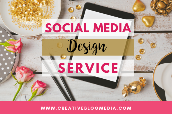 Custom Social Media Design Service by Creative Blog Media