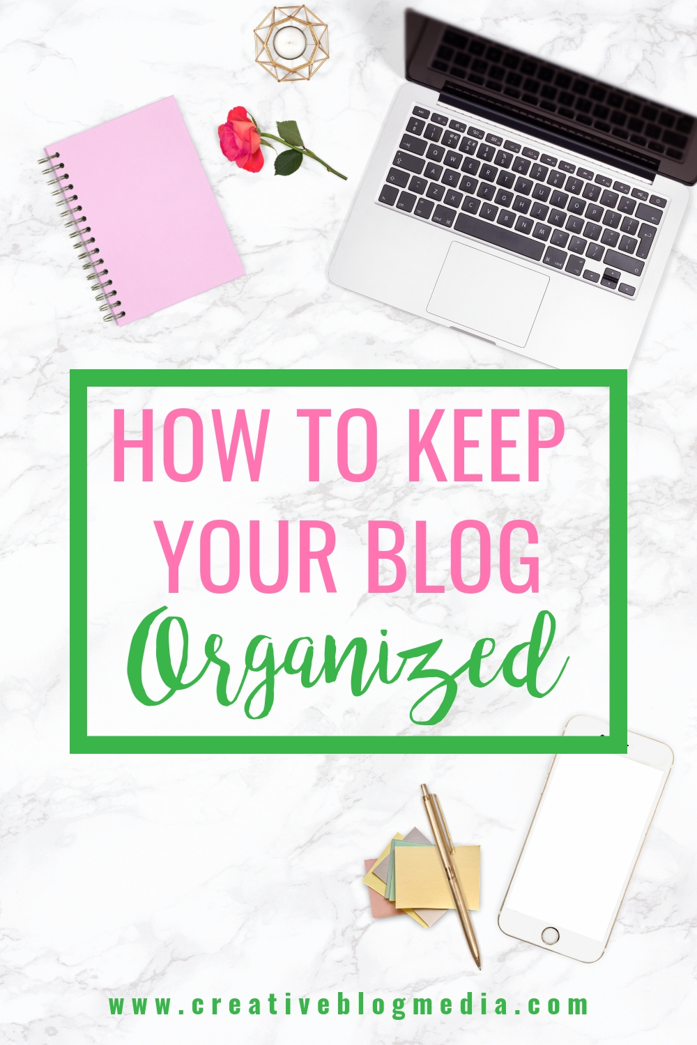 Keep your blogging business on task and on target with these helpful Tips To Keep Your Blog Organized. #bloggingtips #productivity