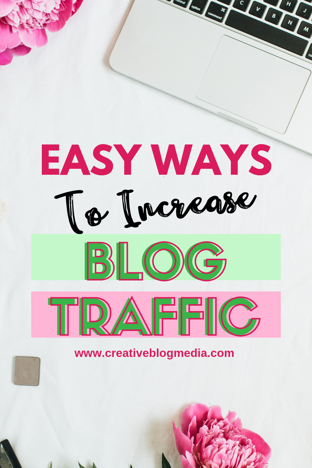 Learning how to increase your blog traffic is probably one of the biggest problems every blogger faces from time to time. Check out these Easy Ways To Increase Blog Traffic. Here are some helpful blogging tips. #blogging #bloggingtips