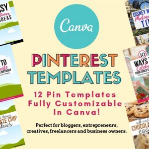 Canva Templates For Pinterest